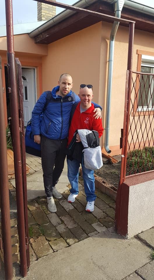 Filip Bartole sa starijim bratom Davidom