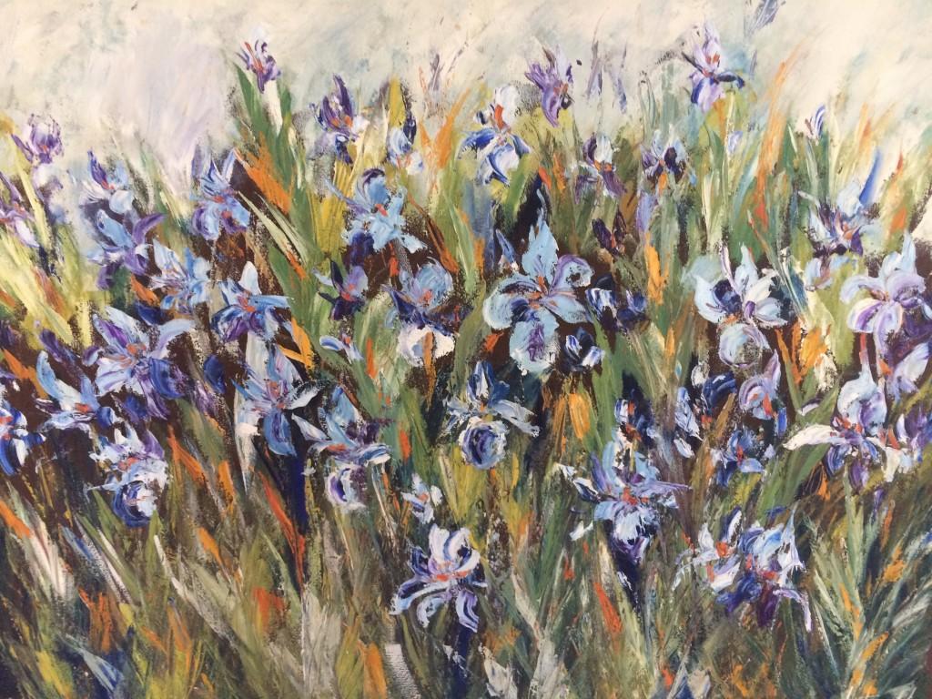 Vesna Cvetkov - Irisi - ulje