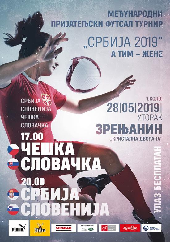 Futsal zene najava plakat