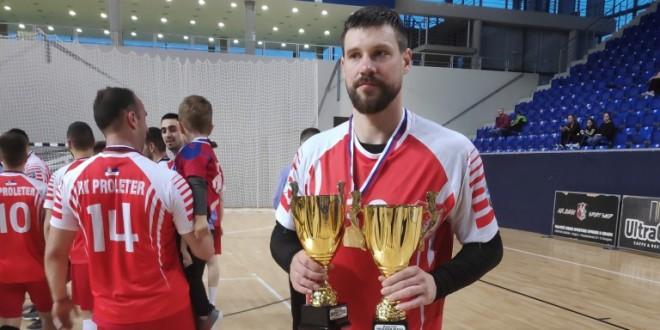 Zrenjanin - Momir Rnić junior ostaje veran Proleteru foto B.Grujić