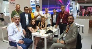 Delegacija Republike Srbije na štandu