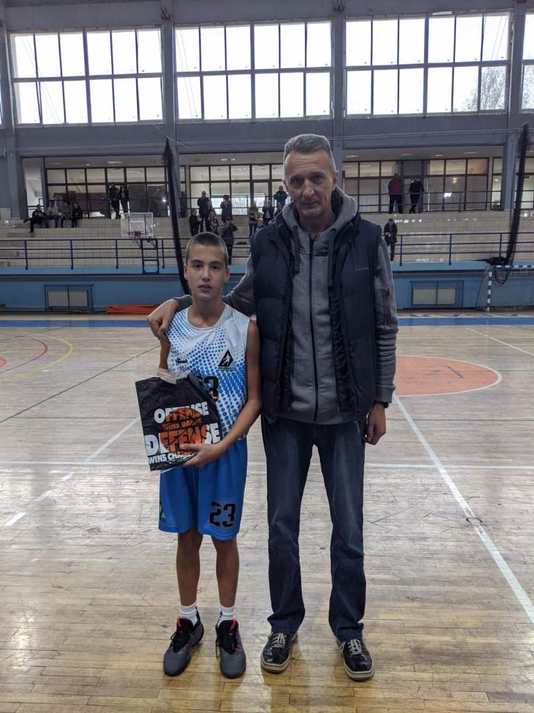 MVP TURNIRA U ŽABLJU – STEFAN ŽDRNJA AKADEMAC SC