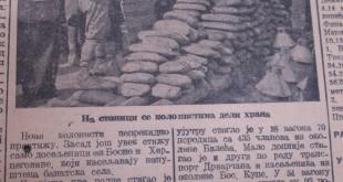Dolazak novih grupa naseljenika, Slobodna Vojvodina25.09.1945, br.279, str. 5