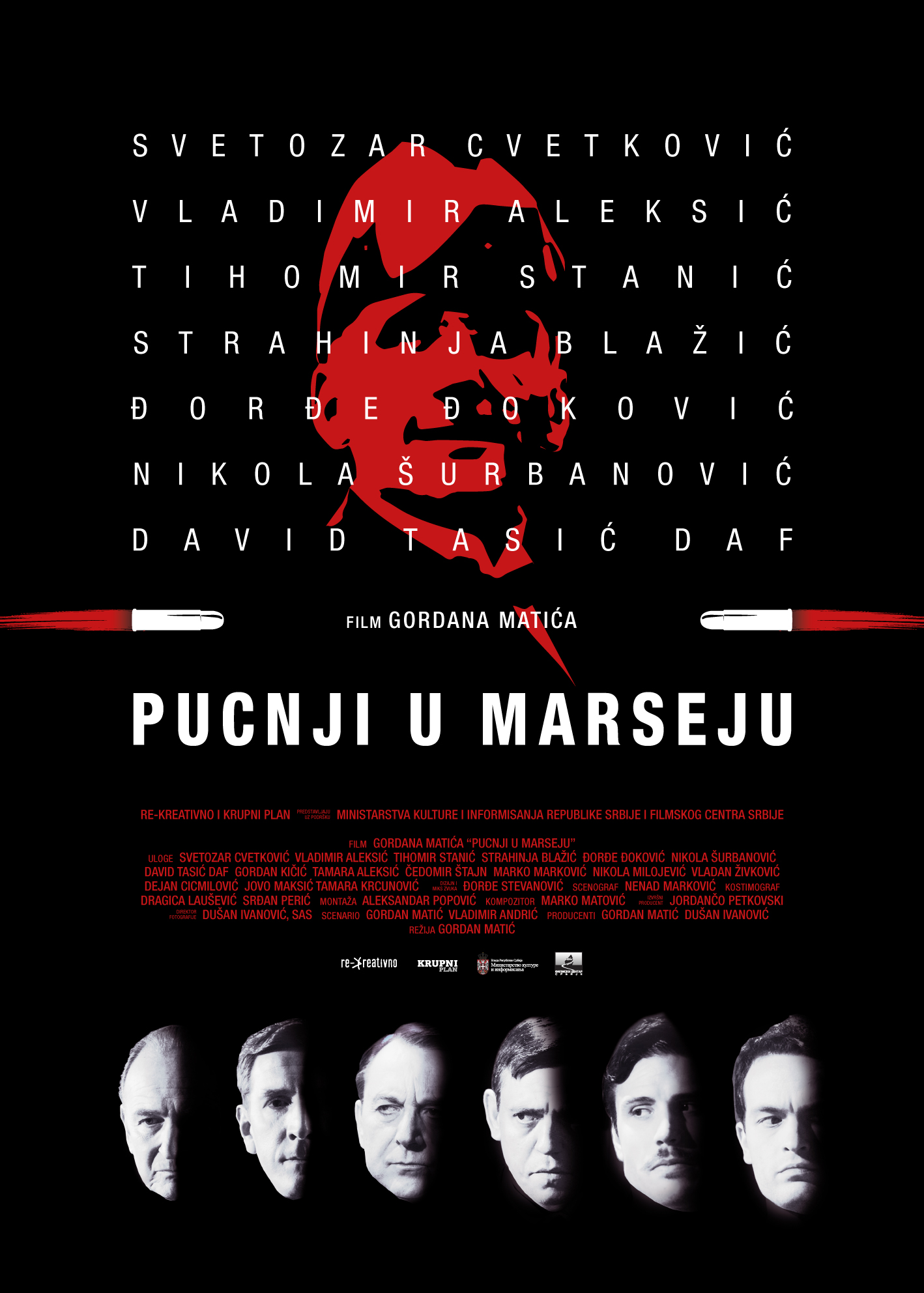 Pucnji u Marseju plakat