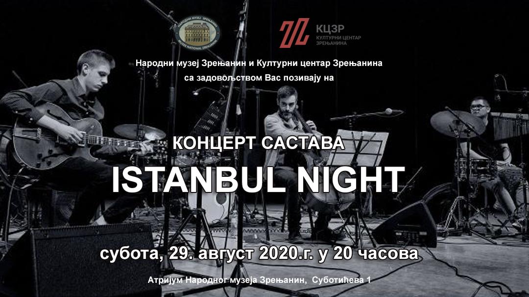 Istanbul night poz