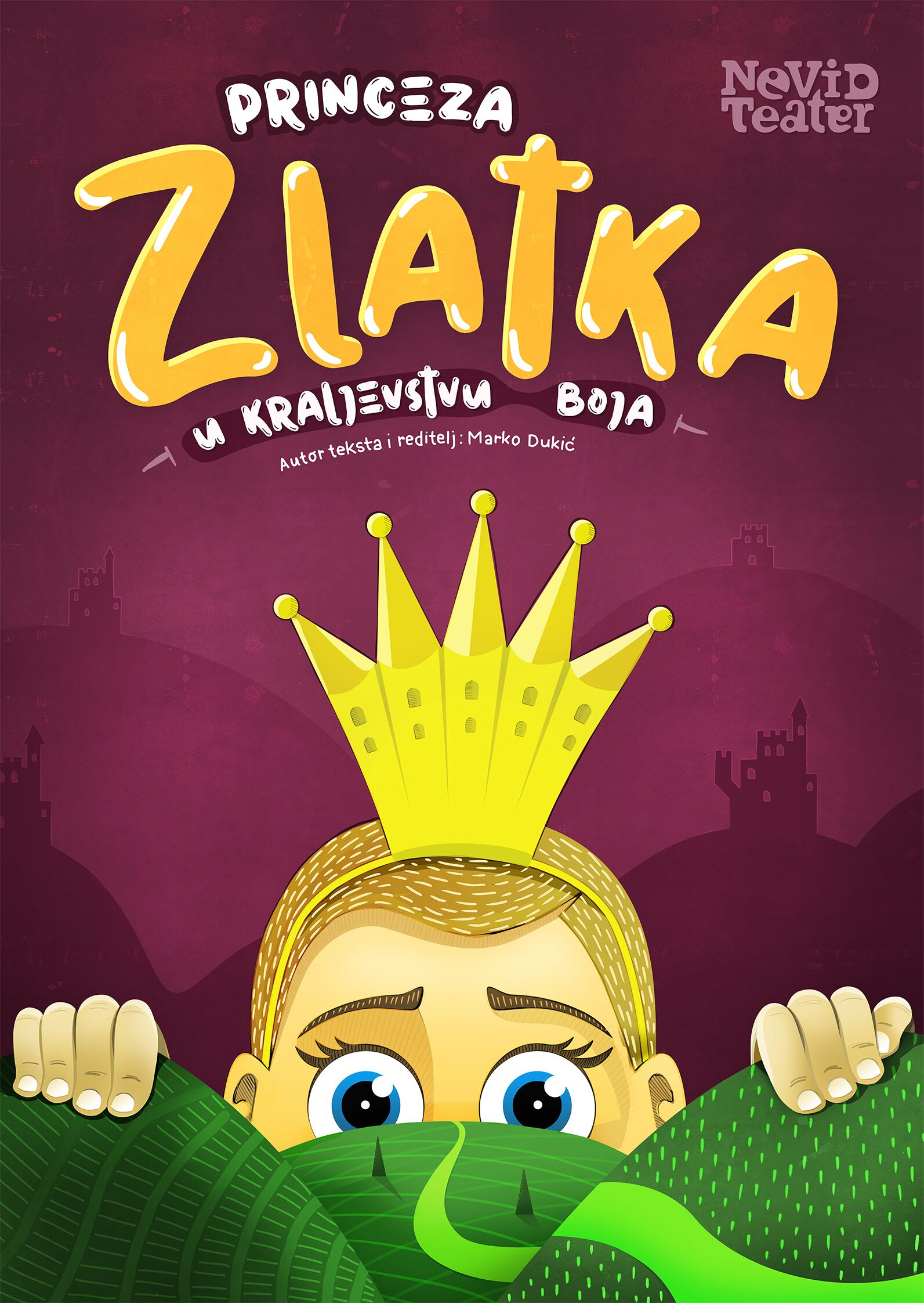 Plakat-Princeza-Zlatka-Nevid-teatar