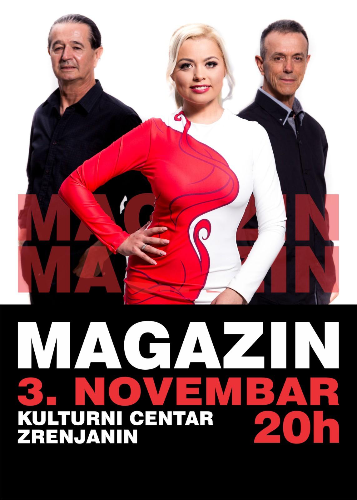 plakat - grupa Magazin